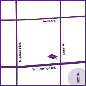 map of location of Flamingo Healthcare center